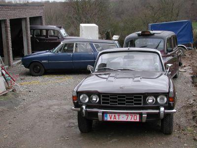 Belgie P6-Estate en diverse taxi's