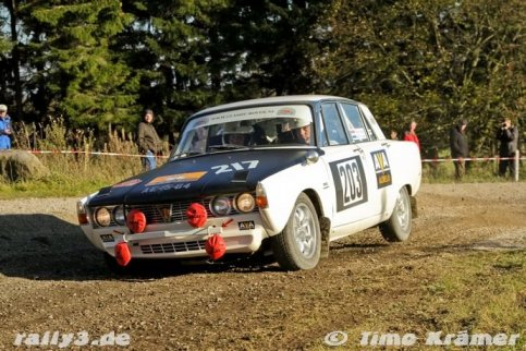 13e plaats voor Classic Rover Rally Team
