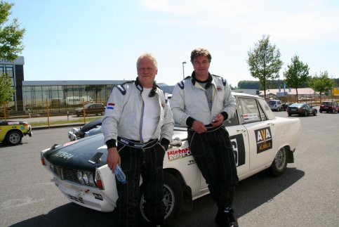 Classic Rover Rally Team start in Classic Euregio