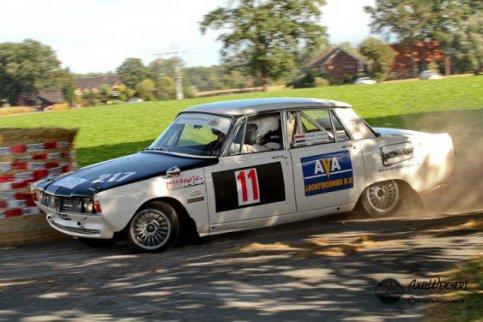 Prima resultaat Classic Rover Rally Team  !!