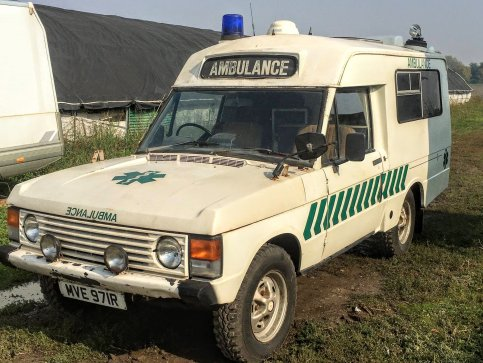 New Arrival : Range Rover Classic AMBULANCE 1976