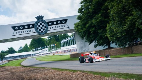 "Target voor 2018 : Goodwood ""Festival of Speed"""