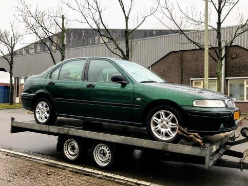 """Nieuwe """"moderne"""" Rover in de collectie :Rover 416SI Luxe 1999"""