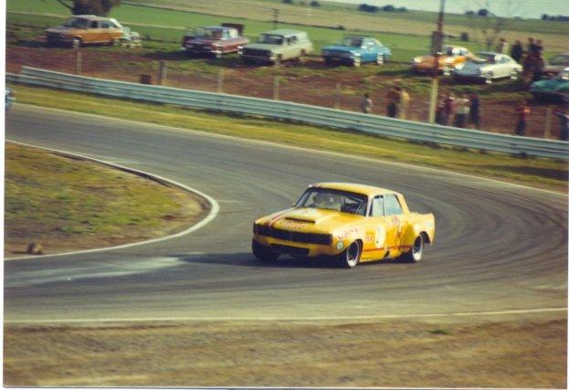 Calder Australië 1973 : Jim Smith Rover P6 -  Repco-Holden 5.0Litre